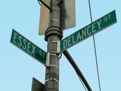 Located right near the corner of Essex and Delancy Street